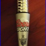 Very RARE Coors Light NHL Hockey Stanley Cup Beer Tap Handle