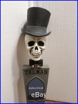 Very Rare Badass Skull Deduction Declare Yourself 13 Beer Keg Tap Handle