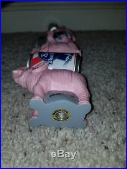 Very Rare PBR Pabst Blue Ribbon Pink Circus Elephants 11.5 Beer Keg Tap Handle