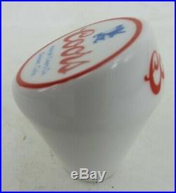 Very rare ADOLPH COORS Banquet BEER ceramic BALL tap handle knob GOLDEN COLORADO