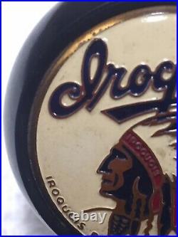 Vintage 1930s/40s Iroquois Beer Ball Knob Tap Handle Rear Tab Buffalo, NY