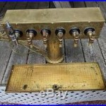 Vintage 6 Head Brass Beer Tap DispenserDraft TowerTapper Handlesbarman cave