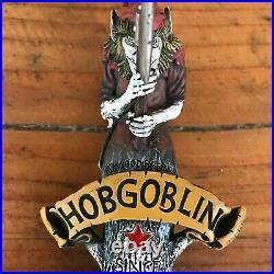 Vintage Beer Hobgoblin English Dark Ruby Ale Tap Handle Knob