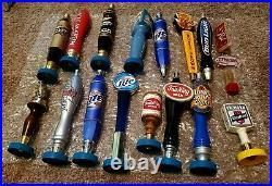Vintage Beer Tap Handles Lot of 17 various brands