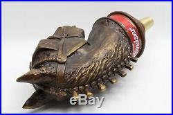 Vintage Budweiser Clydesdale Horse Rare Beauty 9 Draft Beer Keg Bar Tap Handle