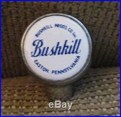 Vintage Bushkill Beer Products Brewing Co Ball Tap Knob / Handle Easton Pa