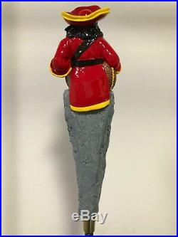 Vintage CAPTAIN MORGAN Full 3D Tap Handle RARE/NEW condition Beer Spiced Rum