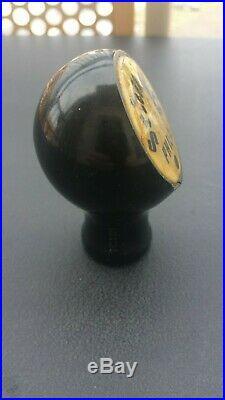Vintage C. Schmidt's Beer Ball Knob Tap Handle Late 1930's Philadelphia, PA