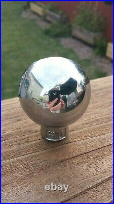 Vintage Champagne Pilsener Beer Ball Knob Tap Handle 1940's Lomira, WI
