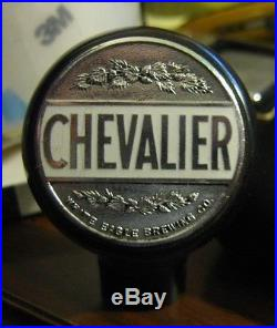 Vintage Chevalier Beer White Eagle Brewing Co Ball Tap Knob / Handle Chicago IL