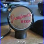 Vintage Graupner Beer Brewing Co Ball Tap Knob / Handle Harrisburg Pa