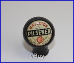 Vintage Hazelton Pllsener Beer Tap Marker Beer Tap Ball Beer Tap Knob Handle