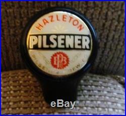 Vintage Hazleton Beer Ball Tap Knob / Handle Pilsener Brewing Co Hazleton Pa