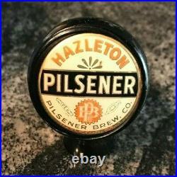 Vintage Hazleton Pilsener Beer Ball Tap Knob / Handle Pilsener Brewing Co Pa
