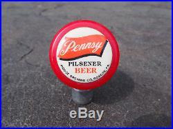Vintage Pennsy Pilsener Beer Moose Brewing Roscoe, PA. Bakelite Tap Handle RARE
