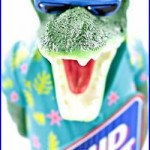 Vintage Rare Bud Light Florida Gator Alligator Beer Tap Handle Budweiser