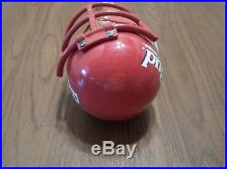 Vintage Scarce Budweiser Football Player Mask Face 13 Beer Keg Tap Handle