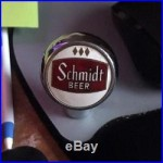 Vintage Schmidt Beer Brewing Co Ball Tap Knob / Handle St. Paul Mn Minn