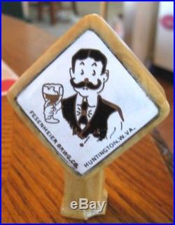 Vintage West Virginia Beer Tap Knob / Handle Fesenmeier Brewing Co Huntington Wv