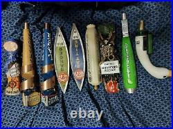 Vintage beer tap handle lot