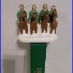 Vtg Scarce 4 Four Horsemen Irish Ale Notre Dame Football Beer Keg Tap Handle