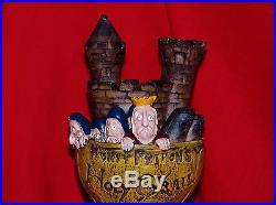 WOW NEW IN BOXES RARE MONTY PYTHON'S HOLY GRAIL BEER TAP HANDLE withGOBLET & CARDS