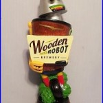 Wooden Robot Brewery New Excellent 11 Beer Keg Tap Handle No Box